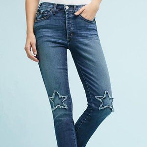 McGuire Vintage Stars Mid-Rise Cropped Jeans
